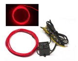 RED ORANGE - 5ft Neon Glow Wire