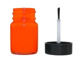 Fluorescent Orange Instrument Cluster Needle Paint Bottle with Brush