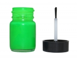 Fluorescent Green Instrument Cluster Needle Paint Bottle with Brush