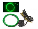 GREEN - 5ft Neon Glow Wire