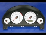 2001-2002 Acura EL Metric KPH White Face Gauges