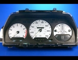 1987-1990 Acura Legend White Face Gauges