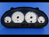 2001-2006 BMW 3-Series E46 M3 SMG White Face Gauges