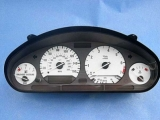 1992-1995 BMW 3-Series 318i 325i White Face Gauges