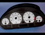 1999-2003 BMW 3 Series E46 Sedan White Face Gauges