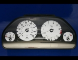 1989-1995 BMW E34 5 Series White Face Gauges 89-95 525