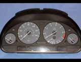 1996-2004 BMW E39 E38 E53 5-Series GREY Face Gauges