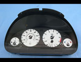 1996-2004 BMW E39 E38 E53 5 Series White Face Gauges