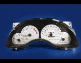 1993-1996 Buick Regal Manual White Face Gauges