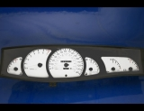 1999-2001 Cadillac Catera White Face Gauges