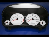 2004-2007 Cadillac CTS White Face Gauges 04-07