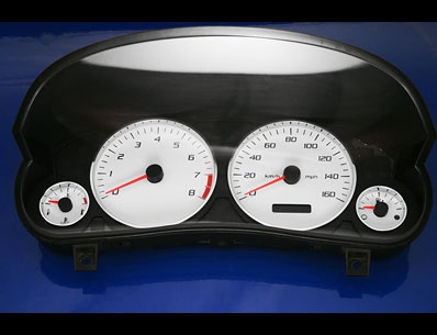 click here for Cadillac white gauges