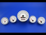 1960-1971 Checker Marathon White Face Gauges