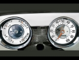 1951 Chevrolet Styleline Deluxe White Face Gauges
