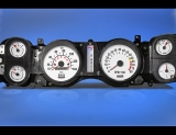 1970-1981 Chevrolet Camaro 140 METRIC KPH KMH White Face Gauges