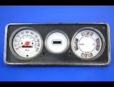1974-1990 Chevrolet P30 Step-Van White Face Gauges