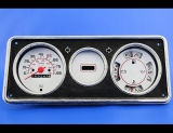 1974-1990 Chevrolet P30 Step-Van 85 MPH White Face Gauges