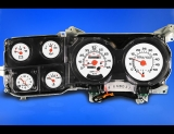 1980-1991 Chevrolet Truck Large Tach with Fuel White Face Gauges
