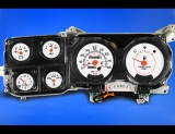 1980-1991 Chevrolet Truck Diesel White Face Gauges
