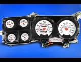 1980-1991 Chevrolet Truck 140 METRIC KPH KMH White Face Gauges