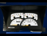 1991 Chevrolet 1500 2500 3500 CK Pickup Truck White Face Gauges