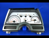 1988-1989 Chevrolet Cavalier 120 Mph White Face Gauges