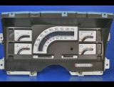 1989-1994 Chevrolet Astro White Face Gauges