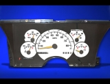 1992-1994 Chevrolet Blazer Non-Tach White Face Gauges