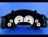 1997-2004 Chevrolet Corvette 200 MPH C5 HUD White Face Gauges