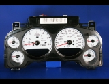 2007-2013 Chevrolet Tahoe Auto Gas White Face Gauges