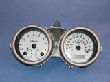 2004-2008 Chevrolet Aveo White Face Gauges