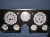 1970-1972 GMC K5 Jimmy White Face Gauges