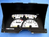 1992-1994 Chevrolet Blazer Tahoe Z71 White Face Gauges
