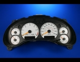 2000-2005 GMC S10 Jimmy Tach Automatic White Face Gauges