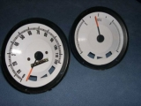 1967-1968 Pontiac Firebird White Face Gauges