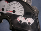 1999-2002 Chevrolet Camaro 150 MPH V8 White Face Gauges