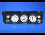 1967 Chevrolet Impala Caprice White Face Gauges