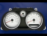 2005-2008 Chevrolet Cobalt METRIC KMH KPH White Face Gauges