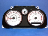 2005-2008 Chevrolet Cobalt SS SUPERCHARGED White Face Gauges