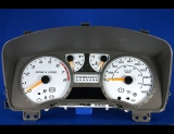 2004-2011 Chevrolet Colorado METRIC KPH KMH White Face Gauges