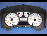 2004-2011 Chevrolet Colorado White Face Gauges