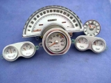 1958-1962 Chevrolet Corvette White Face Gauges