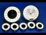1963-1964 Chevrolet Corvette White Face Gauges