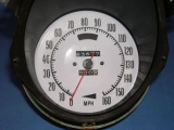 1968-1977 Chevrolet Corvette White Face Gauges