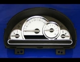 2006-2008 Chevrolet HHR KPH KMH Metric White Face Gauges