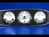 1977-1980 Chevrolet Luv Pickup White Face Gauges