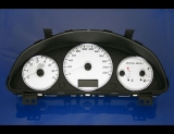 2004-2007 Malibu METRIC KMH km/h White Face Gauges 04-07