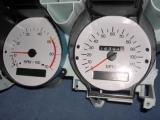 1973-1977 Chevrolet Monte Carlo El Camino White Face Gauges