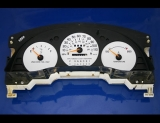 1996-1999 Chevrolet Monte Carlo Lumina Non-Tach White Face Gauges