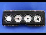 1977-1979 Chevrolet Nova 140 Kmh Metric White Face Gauges